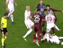 OLCAY ŞAHAN - Trabzonspor - Galatasaray maçında olay