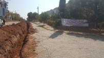 ŞEBEKE HATTI - ASKİ, Efeler'de Hız Kesmiyor