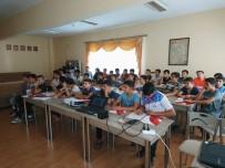 BADMINTON - Aydın'da Bağımlılıkla Mücadele Eğitimleri Devam Ediyor