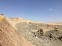 Baraj Gölü Sahasında Kalacak Köy Yolları İçin Yeni Yol Yapılıyor
