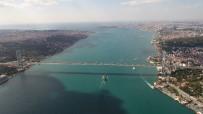 İSTANBUL BOĞAZI - Boğaz'ın Turkuaz Hali Havadan Görüntülendi