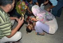 24 KASıM - Cadde Üzerinde Yürüyen Gence Bıçaklı Saldırı