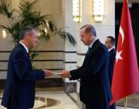 UGANDA - Cumhurbaşkanı Erdoğan, Belçika Büyükelçisi Malherbe'yi Ve Uganda Büyükelçisi Mubiru'yu Kabul Etti