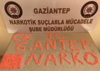 GAZIANTEP EMNIYET MÜDÜRLÜĞÜ - Gaziantep'te 3 Bin Adet Uyuşturucu Hap Ele Geçirildi