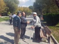 MEHMET YAŞAR - Genel Sekreter Yardımcısı Yaşar, Park Ve Bahçeleri İnceledi