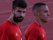 GERARD PİQUE - İspanyol taraftarlardan Gerard Pique'ye büyük tepki