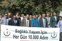 NECİP FAZIL KISAKÜREK - Kahramanmaraş'ta 'Sağlıklı Yaşam Ve Obeziteyle Mücadele' Yürüyüşü