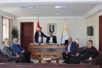 MEHMET ALTAY - Kahveciler Odasından Başkanından Karakullukçu'ya Ziyaret