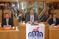 ALI KABAN - Malatya'da İl Koordinasyon Kurulu Toplantısı Yapıldı