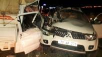 Midyat'ta Trafik Kazası Açıklaması 1 Ölü, 3 Yaralı