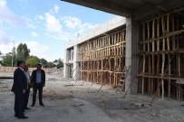 FEYAT ASYA - Muş'ta Şehirlerarası Terminal İnşaatı Tüm Hızıyla Devam Ediyor