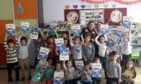 FİTRE - THK, Okullara Defter Ve Boyama Kitabı Dağıtıyor