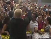 PORTO RIKO - Trump'tan tepki çeken davranış