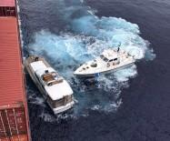 SICILYA - Türk Gemisi Sicilya Açıklarında 77 Göçmeni Kurtardı
