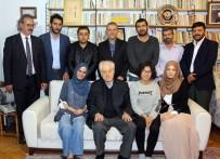 ASLAN DEĞİRMENCİ - UMED'den Nuri Pakdil'e Ziyaret