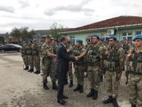 Vali Toraman'dan, El-Bab'dan Gelen Askerlere Ziyaret