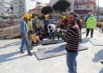 MEDİKAL KURTARMA - Yeni Hizmet Binası İnşaatında Kaza