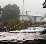 YAĞIŞLI HAVA - Ankara'ya mevsimin ilk karı yağdı