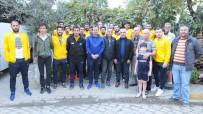 Burhaniyeli Hasan Özavcı Bigadiçli Sporcuları Konuk Etti