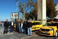 TAKSİ PLAKASI - Çınarcıklı Taksicilerden Eylem