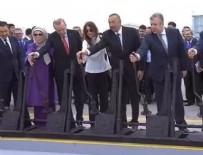 DEMİRYOLU PROJESİ - Bakü - Tiflis- Kars Demiryolu hattı açıldı