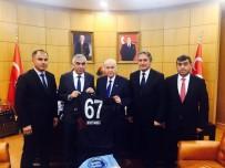 BÜLENT ECEVİT ÜNİVERSİTESİ - GMİS Yönetimi MHP Genel Başkanı Bahçeli İle Görüştü