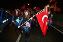 HÜSAMETTIN ÇETINKAYA - Kumluca'da Coşkulu Cumhuriyet Kutlaması