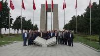 ŞEHİTLER ABİDESİ - Muhtarlar Çanakkale'yi Ziyaret Etti