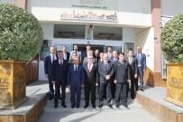ALPASLAN KAVAKLIOĞLU - Niğde Protokolünden Belediye Başkanı Özkan'a Ziyaret