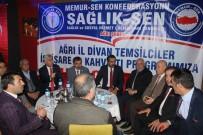 TOPLU SÖZLEŞME - Sağlık-Sen Genel Başkanı Memiş'ten 'Yıpranma Payı' Müjdesi