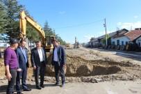TAŞAĞıL - Seydişehir'de Makine Parkı Hizmet Binası Yapımına Başlandı