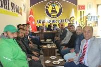 MEHMET YıLDıRıM - AK Parti Ağrı İl Yönetimi Ağrı 1970 Spor Kulübünü Ziyaret Etti