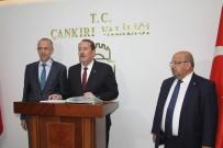 ÇANKIRI VALİSİ - AK Parti'li Karacan Açıklaması 'Bizim Partimiz Bir Dava Partisi'