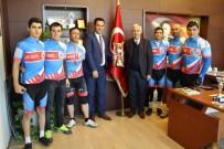 GÜMÜŞSU - Ayyıldız Doğa Sporları Kulübü Bisiklet Yarışlarında Türkiye 3.'Sü Oldu