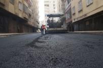 ŞEYH ŞAMIL - Bağlar Belediyesi Şeyh Şamilde Asfaltı Yeniliyor