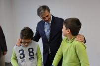 KALDIRIMLAR - Başkan Alemdar, Minik Öğrencilerin Misafiri Oldu