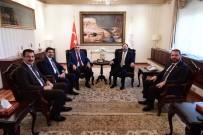 AYHAN SEFER ÜSTÜN - Başkan Toçoğlu'ndan Diyanet İşleri Başkanı Erbaş'a Ziyaret