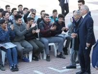 OSMAN ZOLAN - Başkan Zolan, Lise Öğrencilerine Misafir Oldu