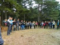 BIYOLOJI - Burhaniye'de Öğrenciler Kazdağı Yürüyüşüne Katıldı