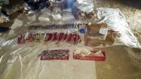 DERE YATAĞI - Cizre'de EYP Yapımında Kullanılan Malzemeler Ele Geçirildi