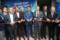 MUSTAFAPAŞA - Elazığ Belediyesi Spor Ve Yaşam Merkezinin 3'Üncüsü Açıldı