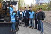 VAN GÖLÜ - İpekyolu Belediyesinden Yol Yapım Çalışması