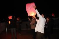 GÖKYÜZÜ - Medicana Meme Kanserine Farkındalık İçin Gökyüzüne Dilek Feneri Gönderdi