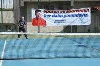 SERVERGAZI - Merkezefendi'de Tenis Turnuvası
