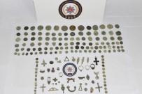 BIZANS - Milattan Önce 6. Yüzyıla Ait Tarihi Eserler Ele Geçirildi