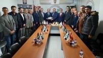 MEHMET MÜEZZİNOĞLU - Müezzinoğlu'ndan BTTDD Bursa Şubesi'ne Ziyaret