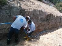 ŞEBEKE HATTI - Mut'ta Engelli Vatandaşın İçmesuyu Sorunu Çözüldü