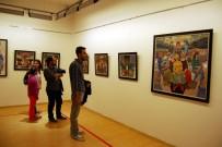 YÜZÜNCÜ YıL ÜNIVERSITESI - Ressam Ali Düzgün'den Kentsel Dönüşüm Sergisi