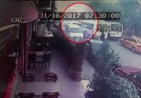 GIRNE - Servis Şoförüne Silahlı Saldırı Anı Kamerada