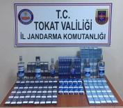 TRAFİK KANUNU - Tokat'ta Kaçak Sigara Ve İçki Operasyonu